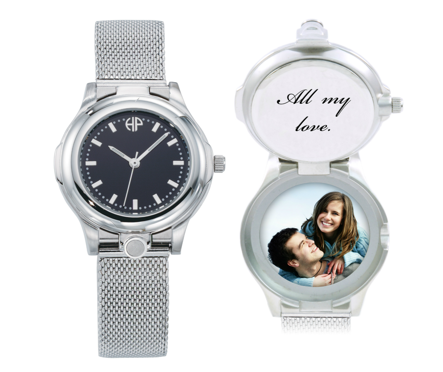 Image of Ladies Executive personalized picture portrait watch